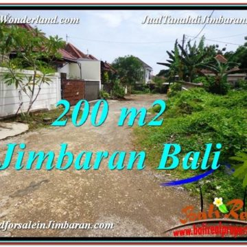 Magnificent 200 m2 LAND FOR SALE IN Jimbaran Ungasan TJJI106