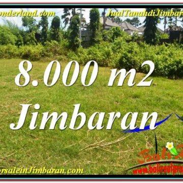 Exotic JIMBARAN 8,000 m2 LAND FOR SALE TJJI109