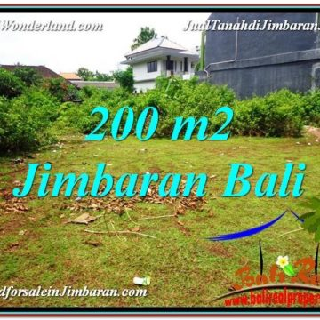 Magnificent PROPERTY 200 m2 LAND IN JIMBARAN BALI FOR SALE TJJI107