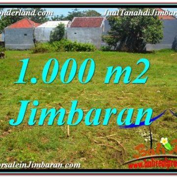 1,000 m2 LAND IN Jimbaran Ungasan FOR SALE TJJI108