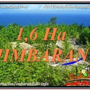 Beautiful 16,000 m2 LAND IN Jimbaran Uluwatu  FOR SALE TJJI112