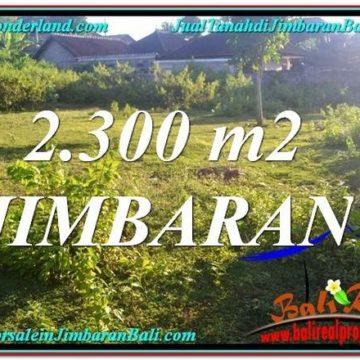 Beautiful 2,300 m2 LAND SALE IN JIMBARAN TJJI117