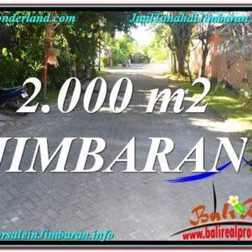 Beautiful PROPERTY 2,000 m2 LAND FOR SALE IN JIMBARAN BALI TJJI115