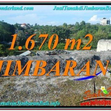Affordable 1,670 m2 LAND FOR SALE IN Jimbaran Ungasan TJJI116